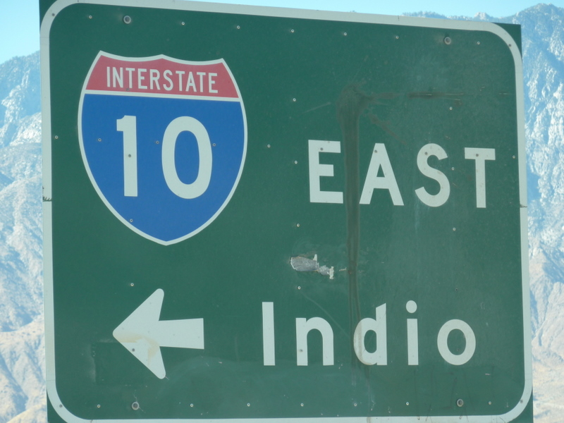 East To Indio