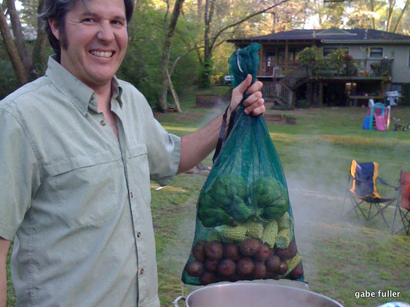 James & The Giant Vegetable Bag